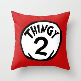 Thingy2 Throw Pillow