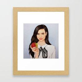 Sofia Carson Framed Art Print