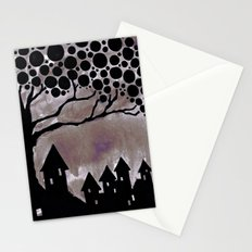 noturne city Stationery Cards