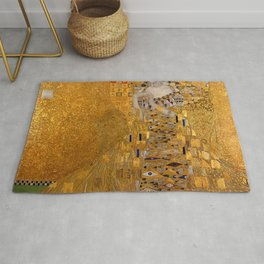 The Woman In Gold Bloch-Bauer I by Gustav Klimt Rug