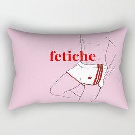 fetiche #3 (pink) Rectangular Pillow
