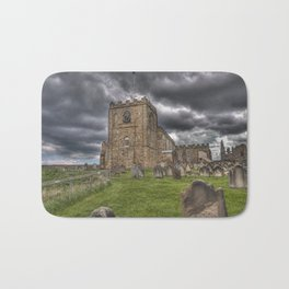 St. Mary's Church in Whitby on the Yorkshire Coast in England Bath Mat