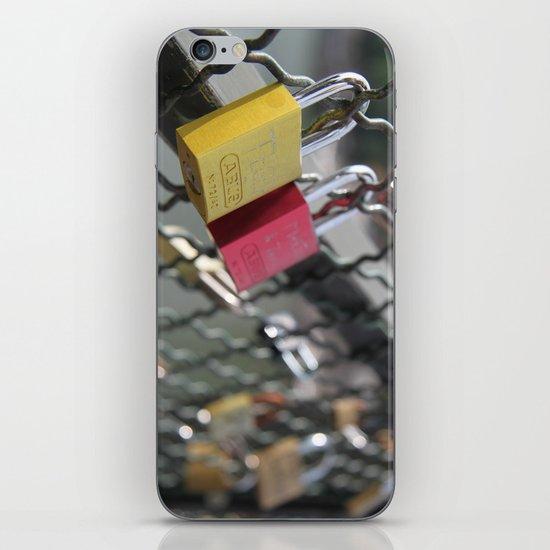 key to my heart iPhone & iPod Skin