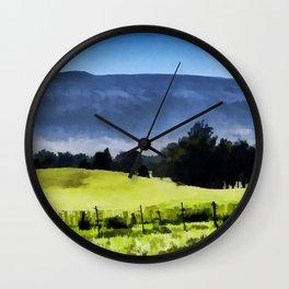 Mauna Kea from Mana Road Wall Clock