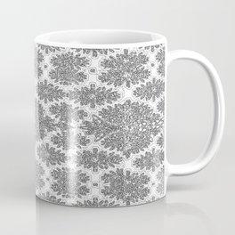 Neutral Damask Coffee Mug