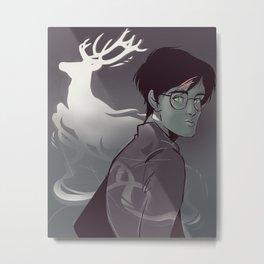 Stag Spirit Metal Print