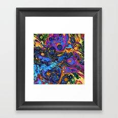 marbling Framed Art Print
