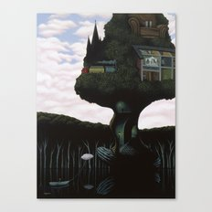 The Remembering Tree Canvas Print