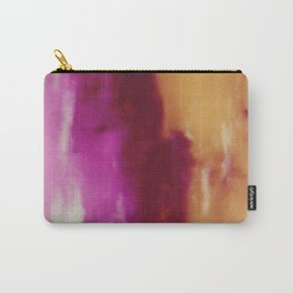 Cherry Rose Painted Clouds Carry-All Pouch