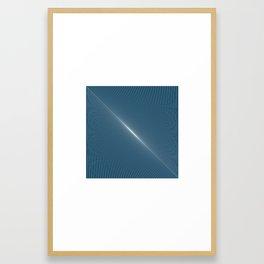 #254 Dawn – Geometry Daily Framed Art Print