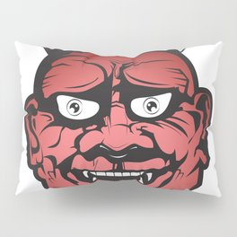 Red Hannya Pillow Sham