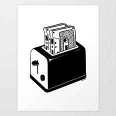 Hot Music Art Print