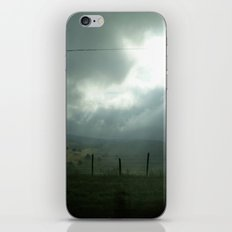 wired sky iPhone & iPod Skin