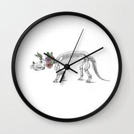 Tri-rosie-tops Wall Clock