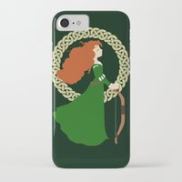 merida iPhone & iPod Cases featuring Merida  by Cantabile