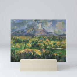"""Paul Cezanne """"Montagne Sainte-Victoire.Vue des Lauves"""" Mini Art Print"""