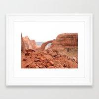 utah Framed Art Prints featuring Utah by prism POP