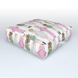Triple Madge Material Girl Outdoor Floor Cushion