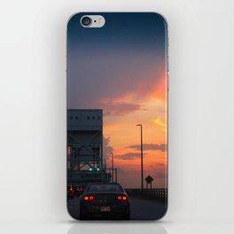Cape Fear Bridge At Sunset iPhone Skin