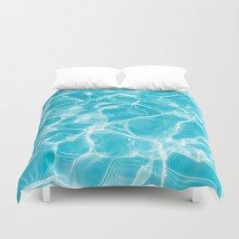 Ripple  Blue Water Duvet Cover
