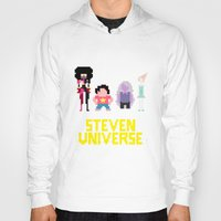 steven universe Hoodies featuring Steven Universe by NeleVdM