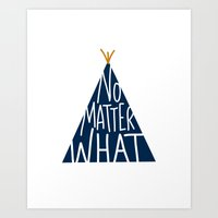 Another Teepee Print Art Print
