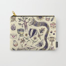 Hufflepuff, Loyal and True Carry-All Pouch