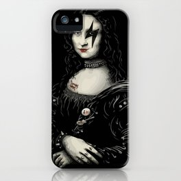 Mona Lisa Rock! iPhone Case