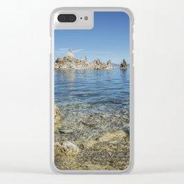 Mono Lake Tufa, No. 2 Clear iPhone Case