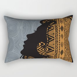 Tribal Dreams by Viviana Gonzalez & Pom Graphic Design Rectangular Pillow