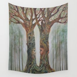 Harmonious Passions Wall Tapestry