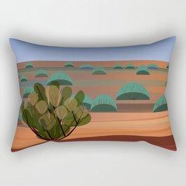 Twilight in the Desert Rectangular Pillow