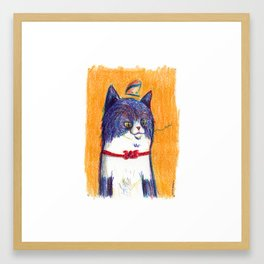 Miau Cat Framed Art Print
