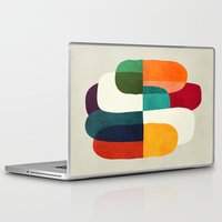 the cure Laptop & iPad Skins featuring The Cure For Sleep by Picomodi