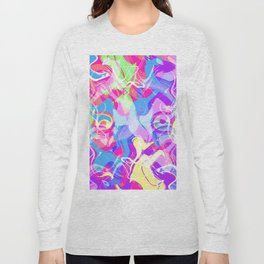 Art Face Long Sleeve T-shirt