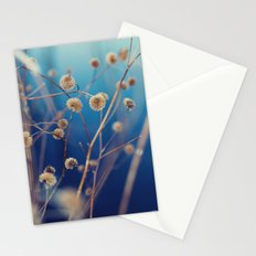 blue serenity Stationery Cards