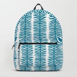 Seaweed Blue pattern Backpack
