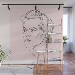 Harry Styles Drawing Wall Mural