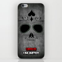 calavera iPhone & iPod Skins featuring Calavera by UrsusUnlimited