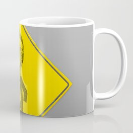 Mask man crossing Coffee Mug