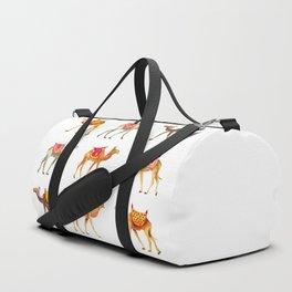 Cute watercolor camels Duffle Bag