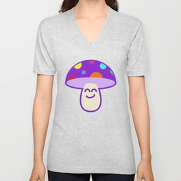Shroomie - The friendly Magic Mushroom Unisex V-Neck