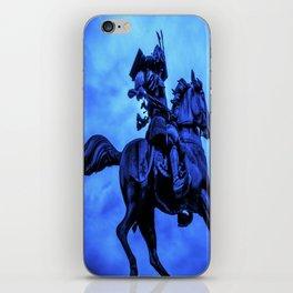 Samurai On Warhorse iPhone Skin