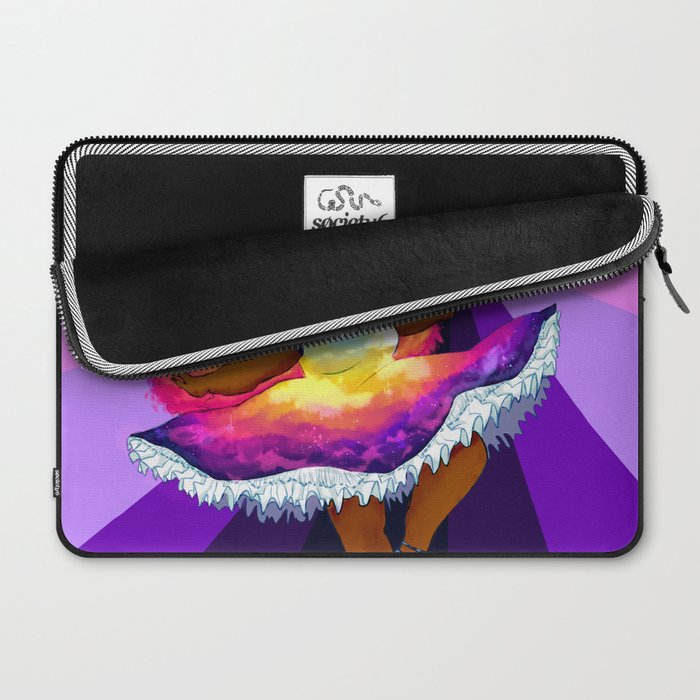 Sunset Witch Redo  Laptop Sleeve