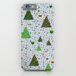 Christmas Trees 1 iPhone Case
