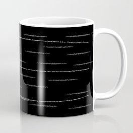 Sputnik Chalk Drawing Coffee Mug