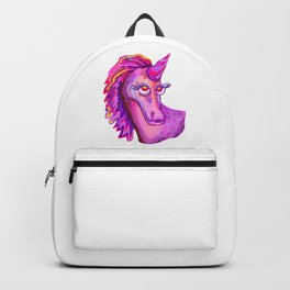Self-Portrait of a Unicorn Backpack
