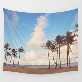 Kauai Palm Trees Wall Tapestry