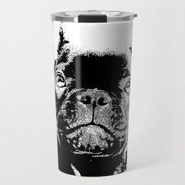 Französische Bulldogge Travel Mug