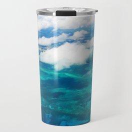 499 - Abstract Aerial Design Travel Mug